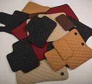 Leather Car Floor Mats Luxury Bespoke Fully Tailored Fit Mercedes Ml W164 2006-
