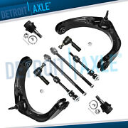 For Dodge Ram 1500 2wd 5-lug Upper Control Arm Ball Joint Tie Rod Sway Bar Kit