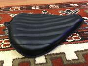 Leather On The Frame Motorcycle Seat Black 2012 Harley Sportster 1200 883 48