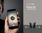 Pair L And R Of New Oticon Opn 1/ 2/ 3 Minirite 64/ 48 Ch Hearing Aid For Iphone
