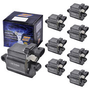 Set Of 8 Herko B039 Ignition Coils For Cadillac Chevrolet Gmc Hummer 1999-2006