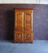 Armoire Wardrobe Tv Cabinet Country French Armoire