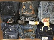 6 Size 34 Jeans And 4 Belts All Real Nothing Fake 2000 Takes It All Bulk Sale O