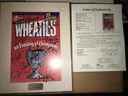 Wheaties Champions Multi Signed Photo Herb Brooks Bruce Caitlyn Jenner 1 Of 1