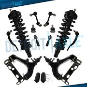 14pc Front Control Arms Struts Complete Assembly For Chevy Trailblazer Gmc Envoy