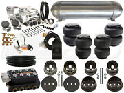 Complete Air Ride Suspension Kit 1959 - 1960 Cadillac Level 3 - 3/8 - Bcfab