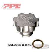 Ppe Engine Oil Filler Cap For 01-18 Chevy Gmc Duramax 6.6l Diesel W O-ring