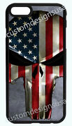 Punisher Skull American Flag Phone Case For Iphone Xr Xs X 8 7 6s 6 Plus 5s 5c 4