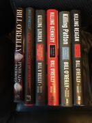 O'reilly 6 Book Lot Killing Reagan,patton,kennedy,lincoln, Pinheads,humanity
