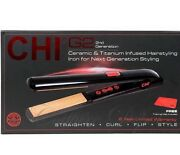 Chi G2 - 2nd Generation Ceramic And Titanium Flat Iron 425°f With Free Thermal Mat