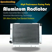 Aluminum Radiator Fit Ford Galaxie Base Sunliner V8 1960 -1963 52mm 3row At