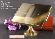 Book-reading-display-stand-bible-stand-prayer-book-fixed-brass-stand Sjj-6