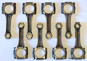 1964-79 Pontiac V8 Cast Connecting Piston Rods Fit 326 350 389 400 421 428 And 455