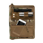 Tactical Admin Notebook Cover System With Map Case Multicam