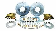 Performance Online Deluxe 1947-54 Chevy Truck Front 6 Lug Disc Brake Conversion