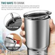 Coffee Travel Mug Stainless Steel Thermos Insulated 30 Oz Cup Hot Cold Drink
