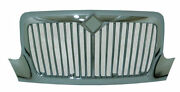 International Durastar 4200 4300 4400 Grille   Chrome   Without Bugscreen