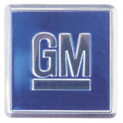 Door Jamb Decal Blue And039gmand039 68-70 All Gm Cars [use 2 Per Application]