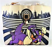 Disney Dooney And Bourke Epcot Food And Wine Festival 2017 Figment Tote New Extras