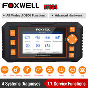 Foxwell Nt634 Four System Obd2 Scanner Code Reader Auto Abs Dpf Tpms Reset Tool