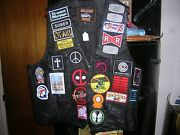 Brand New Anime Video Game Comic Book Leather Diy Vest Must See Deadpool