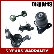 New Auto Engine Motor Mounts Kits 4pcs Fit For Toyota Camry 2.2l 1992-1996