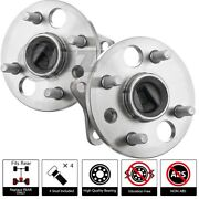 [rearqty.2] New Wheel Hub For Toyota Corolla Chevy Geo Prizm Fwd Non-abs Model