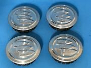 2005-07 Buick Regal Lacrosse Verano Polish Genuine Factory Oem Center Caps Set