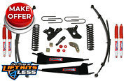 Skyjacker 284pks-an 4 Lift Kit W/nitro Shocks Pitman Arm For 80-1996 Ford F-150