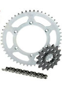 Honda Crf450r Chain And Sprocket Kit 2002-2012 13t Front / 50t Rear With Chain