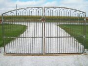 Wide Opening Driveway Gate - Made To Order To Fit Handmade Works W/ 6and039 Fence