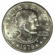 1979/1980 Susan B. Anthony U.s. Dollar - Pack Of 7 [real]