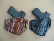 Azula Leather Owb 2 Slot Pancake Belt Holster Ccw For..choose Gun And Color - C