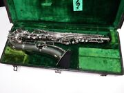 Conn Nickel Plated C Melody Saxophone 111474