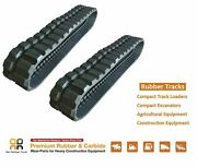 2pc Rubber Track 300x55.5x82 Made For Yanmar Vio 30-1 30-2 30v 35 35-1 35-2 Cr