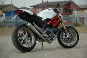 Monster 1100/1100 Evo Qd Exhaust System Low Mount And Catalyst And Maxcone Muffler