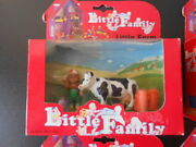 Vintage Little People Family Play House Sylvanian Fisher Barn Farm Animals Cow