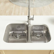 R1-1004 Offset Stainless Steel Sink