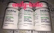 Healthe Trim 3 Bottles 60 Ct =180 Capsules Thermo-energy Booster Hs Skinny 5530