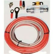 Autoleads Ck-100 10mm ² Cable Kit With Powerkabel Pure Copper Poetry 99,9