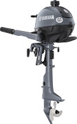 New Yamaha F 2.5 Bmhl Hp Four Stroke Outboard Motor Long Blue Cowl Engine Boat