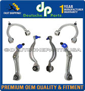 Mercedes W221 W216 4matic Upper Lower Control Arm Arms Ball Joint Suspension Kit
