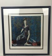 1989 Hand Signed Ting Shao Kuang Calling The Soul Ltd. Ed 85/500serigraph Print