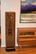 George Nelson For Howard Miller Grandfather Clock Mid Century Modern Circa 1950