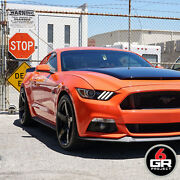 19 Project 6gr Five 10/11 Gloss Black Wheels For Mustang Eco Boost Gt Pp