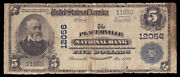 5 1902 Pb The Placerville National Bank California Ch 12056 Tough Ca National
