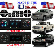 Ac Button Repair Kit Dash Replacement For 2007-2013 Gm Vehicles Decal Stickers
