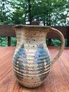 George Scatchard Studio Pottery PItcher Vase Vermont Art Pottery