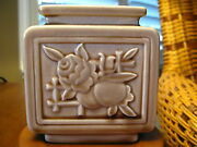 Rookwood Pottery Rectangular Vase Mint Condition