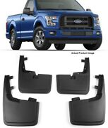 Oe Factory Molded Splash Mud Guards Flaps For 15-20 Ford F150 W/o Fender Flare